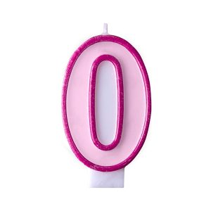 Κερί ροζ Νο 0