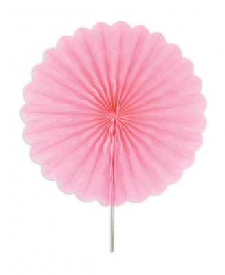 Διακοσμητικές βεντάλιες ροζ 25εκ. 2τεμ.