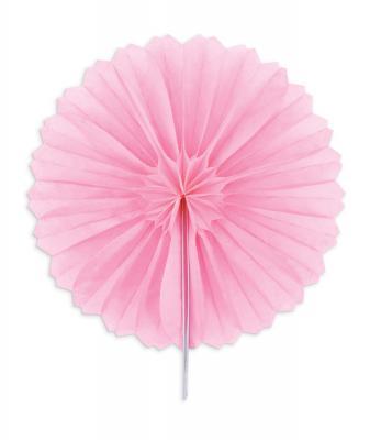 Διακοσμητικές βεντάλιες ροζ 15εκ. 3τεμ.