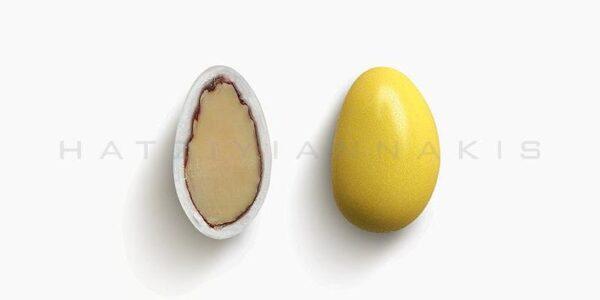 Κουφέτο Αμυγδάλου Βασικό Κίτρινο Γυαλισμένο 500gr