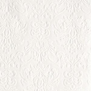 Χαρτοπετσέτες Γλυκού Elegance White 25x25 cm 15τεμ.
