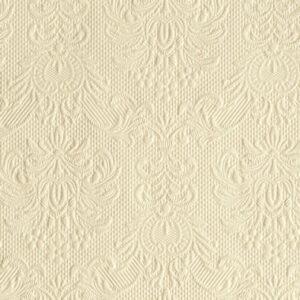 Χαρτοπετσέτες Γλυκού Elegance Cream 25x25 cm 15τεμ.