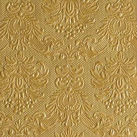 Χαρτοπετσέτες Γλυκού Elegance Gold 25x25cm 15τεμ.