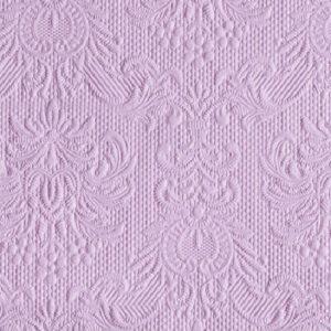 Χαρτοπετσέτες Γλυκού Elegance Light Purple 25x25 cm 15τεμ.
