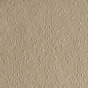 Χαρτοπετσέτες Γλυκού Elegance Taupe 25x25 cm 15τεμ.