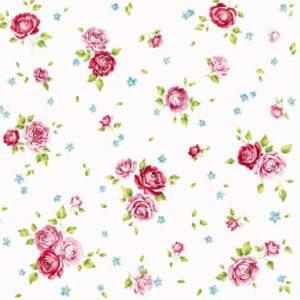 Χαρτοπετσέτες Γλυκού Rosalie White 25x25 cm 20τεμ.