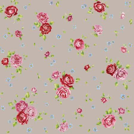 Χαρτοπετσέτες Γλυκού Rosalie Taupe 25x25 cm 20τεμ.