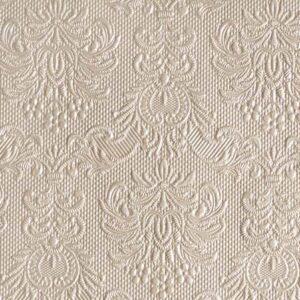 Χαρτοπετσέτες Γλυκού Elegance Pearl Taupe 25x25 cm 15τεμ.