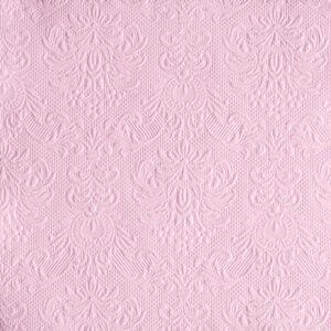 Χαρτοπετσέτες Φαγητού Elegance Pink 33x33 cm 15τεμ.