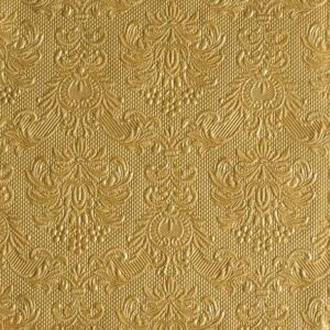 Χαρτοπετσέτες Φαγητού Elegance Gold 33x33cm 15τεμ.