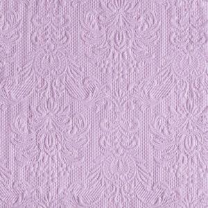 Χαρτοπετσέτες Φαγητού Elegance Light Purple 33x33 cm 15τεμ.