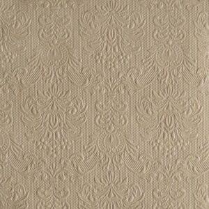 Χαρτοπετσέτες Φαγητού Elegance Taupe 33x33 cm 15τεμ.