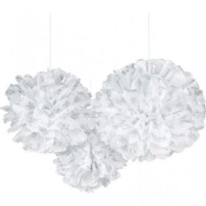 Fluffy Διακοσμητικό SNOWFLAKES 3τεμ.