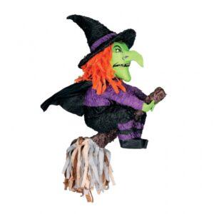 Πινιάτα Μάγισσα Halloween 1 τεμάχιο 50x29x13 εκ.