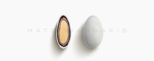 Choco Almond Double Λευκό ματ 500gr