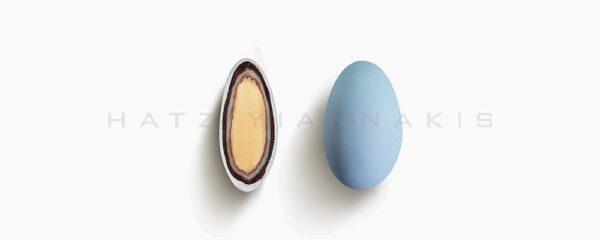 Choco Almond Double μπλε Κυανό ματ 500gr