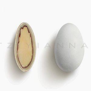 Choco Almond λευκό ματ γεύση Πορτοκάλι 500gr