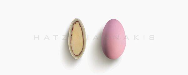 Choco Almond ροζ ανοιχτό ματ γεύση Φράουλα 500gr