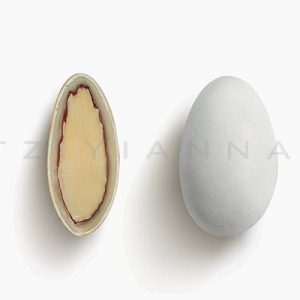 Choco Almond λευκό ματ γεύση Τιραμισού 500gr
