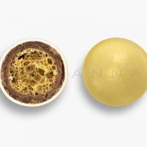 Κουφέτο Crispy μεταλλιζέ χρυσό 350gr