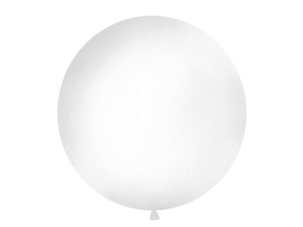 Μπαλόνι Λευκό Παστέλ Μονόχρωμο 1τεμ. 1μ.