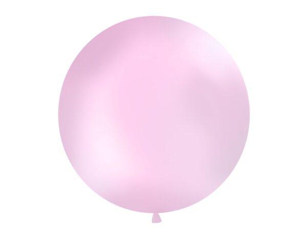 Μπαλόνι Ροζ Παστέλ Μονόχρωμο 1τεμ. 1μ.