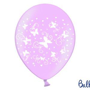 Μπαλόνι Φούξια Πεταλούδες 1τεμ. 30εκ.