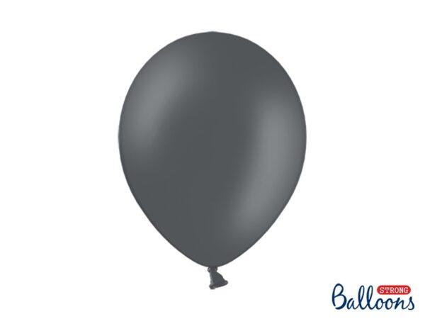 Μπαλόνι Γκρι Παστέλ Μονόχρωμο 1τεμ. 30εκ.