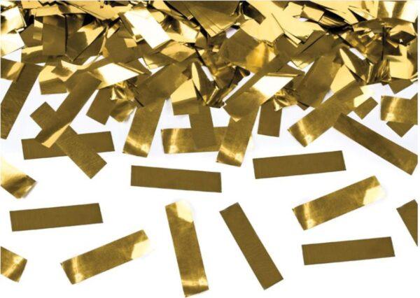 Κανόνι Κομφετί Χρυσό Μεταλλικό 60 εκ. 1τεμ