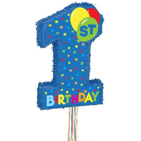 Πινιάτα 1st Birthday Αγόρι