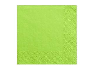 Χαρτοπετσέτες Πράσινο Ανοιχτό Μονόχρωμες 20 τεμ.