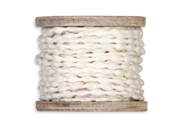 Κορδέλα από νήμα 8m (white)