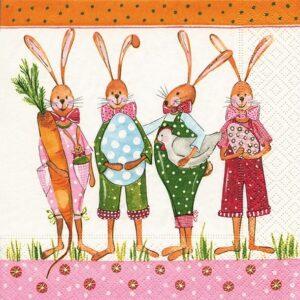 """Χαρτοπετσέτες ντεκουπάζ """"Ready for Easter"""""""