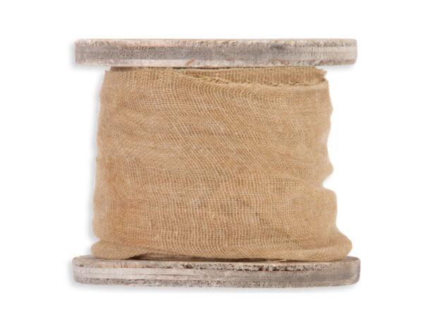 Κορδέλα γάζα ώχρα 5cm x 3m 1τεμ.