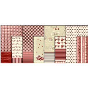 Χαρτί decoupage Paris 17γρ. 25x35 cm. διάφορα σχέδια 8τεμ.
