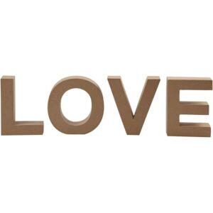 LOVE Papier Mache, 17,5 X 5.5εκ.