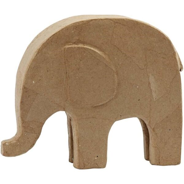 Ελέφαντας Papier Mache Ύψος 21cm Πλάτος 24cm 1τεμ