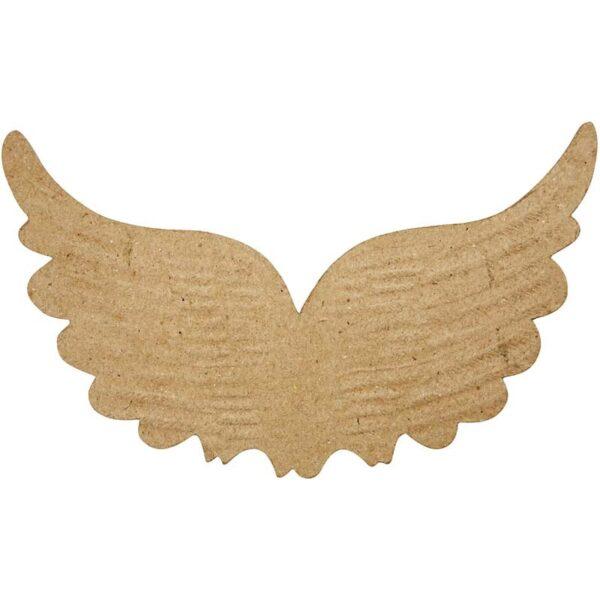 Φτερά Ανάγλυφα Papier Mache 1τεμ.
