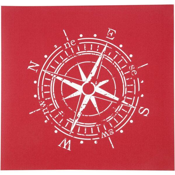 "Stencil ""Compass"" 20x22εκ."