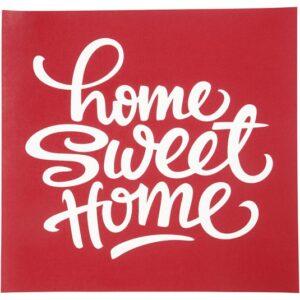 "Stencil (Στένσιλ) ""Home Sweet Home"" 20x22εκ."