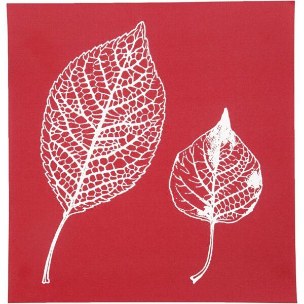 "Stencil ""Leaves"" 20x22εκ."