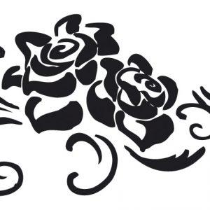Σφραγίδα σιλικόνης Tριαντάφυλλα