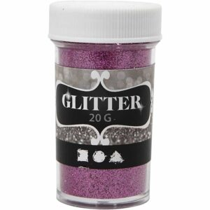 Glitter 20γρ. Ροζ