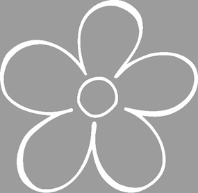 Σφραγίδα στάμπα Λουλούδι 3x3εκ.