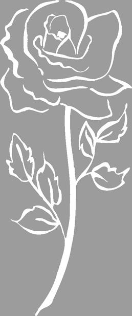 Σφραγίδα στάμπα Τριαντάφυλλο