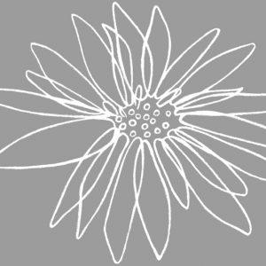 Σφραγίδα στάμπα Λουλούδι 5x6εκ.