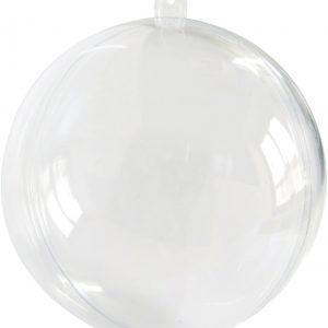 Διάφανη Πλαστική Μπάλα 10cm (20τεμ.)