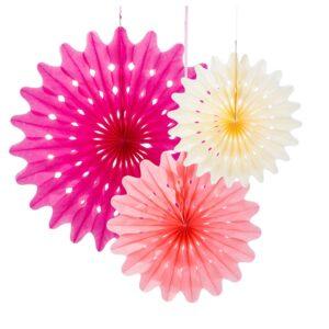 Διακοσμητικές Βεντάλιες Blossom 3 τεμ