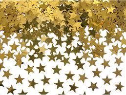 Κομφετί Αστέρια Χρυσά 30G.