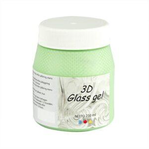 Τζελ Γυαλιού, 3D Glass Gel Εκρού 250 ml